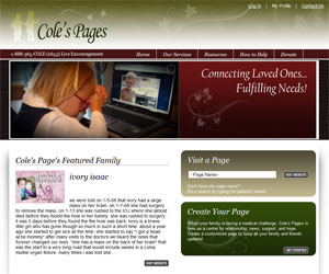 Cole's Page Website